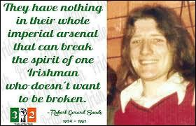 ''Bobby Sands'' : Cet homme était un député nationaliste irlandais, membre de l'IRA provisoire. Comment est-il mort dans la prison de Maze en Ulster en 1981 ?