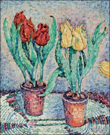 """Qui a représenté """"Les Tulipes"""" ?"""