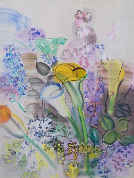 """Qui a représenté """"La Bouquet d'arums"""" ?"""