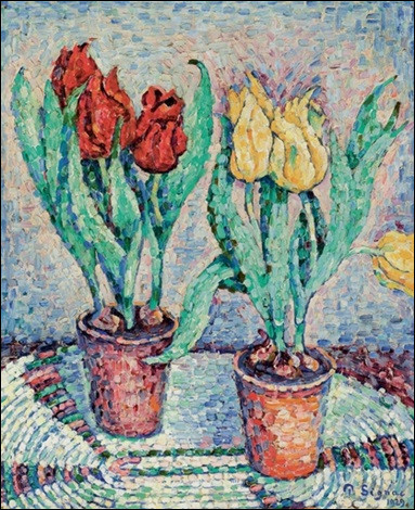 Le temps des fleurs en peinture