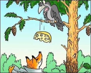 """Dans la fable de La Fontaine, le corbeau et le renard, que signifie le terme """"ramage"""" ?"""