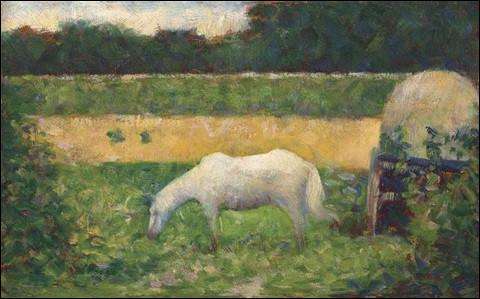 À qui doit-on ce paysage avec un cheval ?