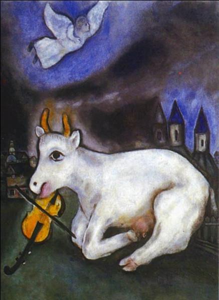 Qui est le peintre de cette chèvre ?