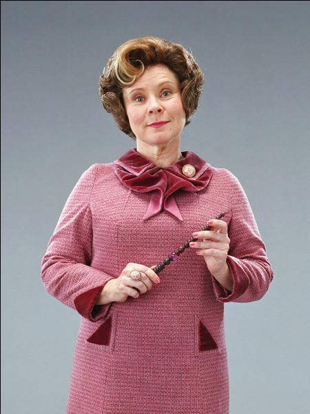 Dans quelle maison Dolores Ombrage était-elle ?