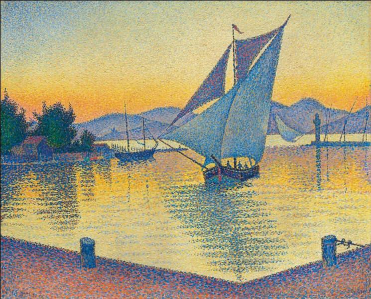 """À quel peintre pointilliste doit-on """"Le Port de Saint-Tropez"""" ?"""