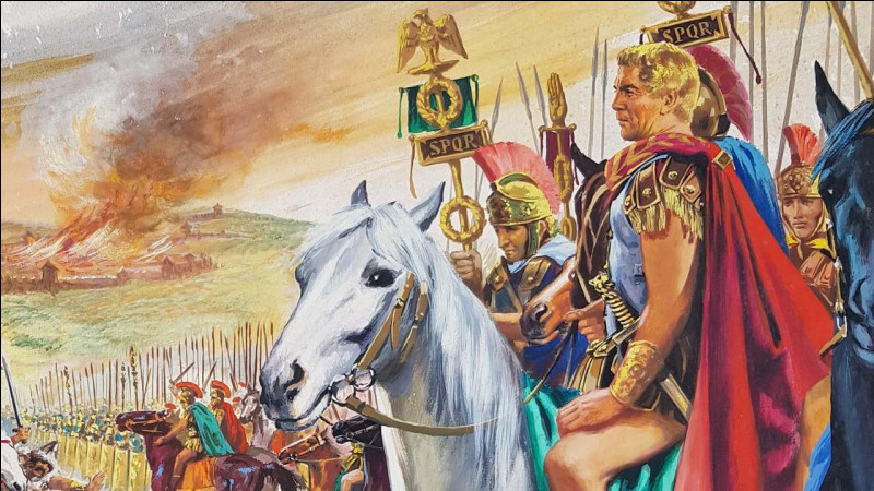 Quelle est race de cheval d'origine marocaine, qui fera son entrée dans l'armée romaine, en devenant la monture de Jules César et de ses troupes pendant la guerre des Gaules ?
