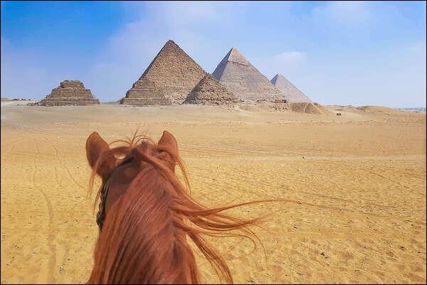 Quel peuple d'envahisseurs introduit le cheval en Égypte ancienne ?