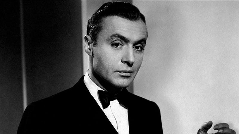 """Il débute en 1920, connait le succès comme """"jeune premier"""" du cinéma français ; il joue dans """"Le Bonheur"""" de Marcel L'Herbier, puis part à Hollywood ; il est Rodolphe dans """"Mayerling"""" de Litvak : c'est ..."""