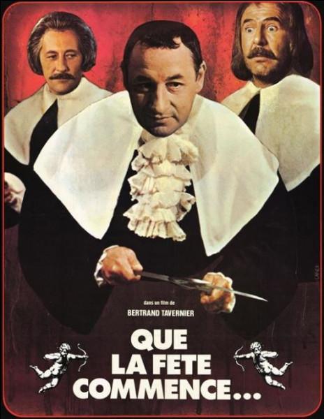 """Thierry Lhermitte a joué dans le film """"Que la fête commence...""""."""