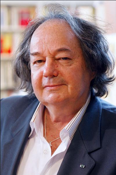 L'écrivain Gonzague Saint Bris a été récompensé par le prix Interallié.