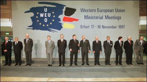 Selon ses membres, à quoi a servi l'UEO, organisation dissoute mercredi et que personne ne connaissait ?