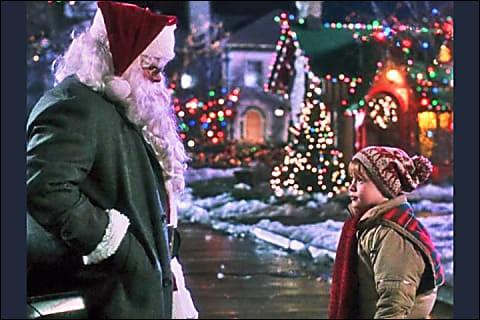 Quel vœu a fait Kevin au père-Noël local ?