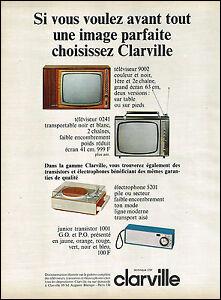 Autre grand produit symbole, la télévision, qui n'est plus seulement en noir-et-blanc : la 2e chaîne de l'ORTF diffuse en couleur en...