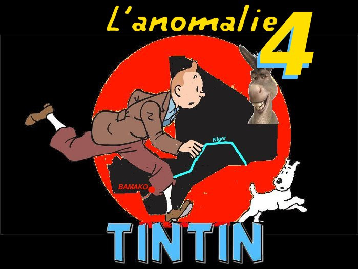 Tintin et l'Âne au Mali (4)
