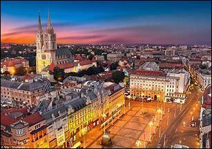 """Quel pays européen a pour capitale """"Zagreb"""" ?"""