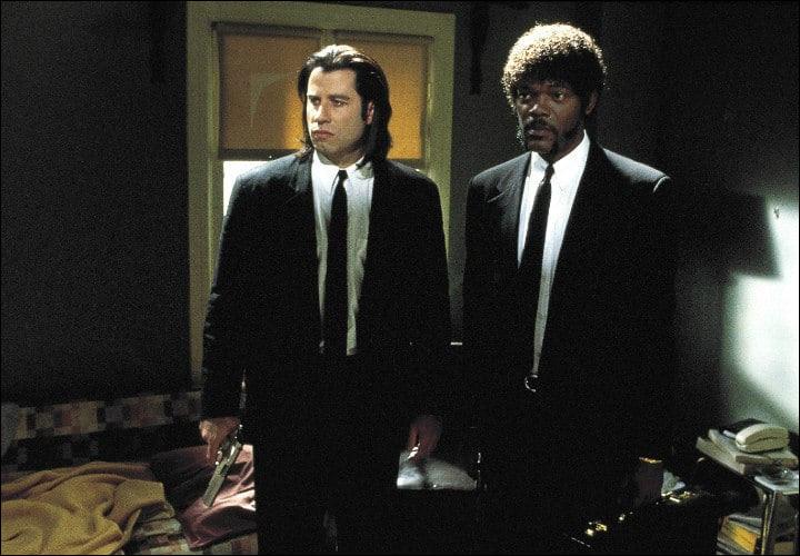 """""""Pulp Fiction"""" > Là, il s'agit plutôt d'une question de continuité dans les décors, alors à vos yeux ! Qu'y a-t-il de bizarre ?"""