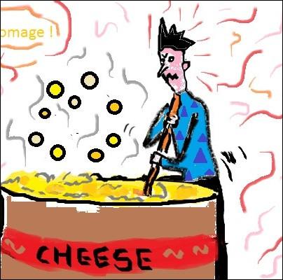 """Que recouvre l'expression """"en faire tout un fromage"""" ?"""