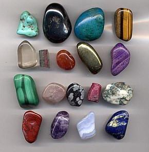 Ma collection de pierres semi-précieuses