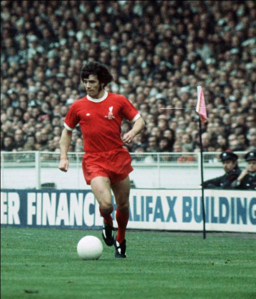 Ce footballeur anglais, attaquant du Liverpool FC de 1971 à 1977, deux fois le Ballon d'or, en 1978 et 1979, c'est ... Keegan