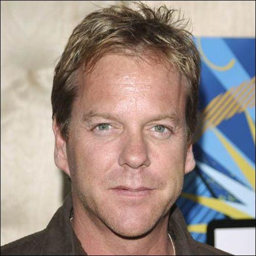 Cet acteur, principalement connu pour son rôle dans la série 24 heures chrono où il incarne Jack Bauer, c'est ... Sutherland.