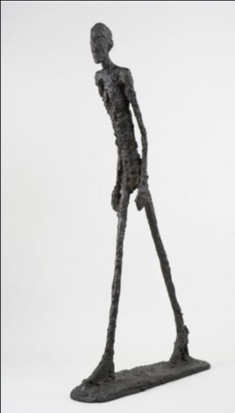 """""""L'Homme qui marche"""" est une icône de l'art du XXe siècle. Qui est son créateur ?"""