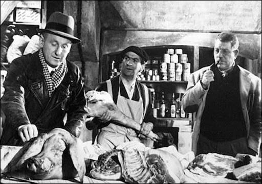 Un chauffeur de taxi au chômage, Marcel Martin (Bourvil) gagne sa vie en livrant des colis au marché noir ; il rencontre le peintre Grandgil (Gabin) : ce film sorti en 1956, c'est ...