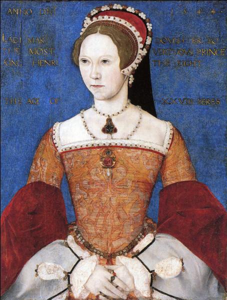 Quel lien de parenté unit Marie Tudor (Marie Ire) et le roi Henri VIII d'Angleterre ?