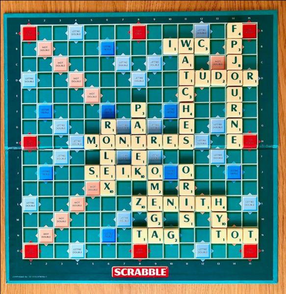Dans le jeu de société Scrabble, quelle est la valeur d'un joker ?