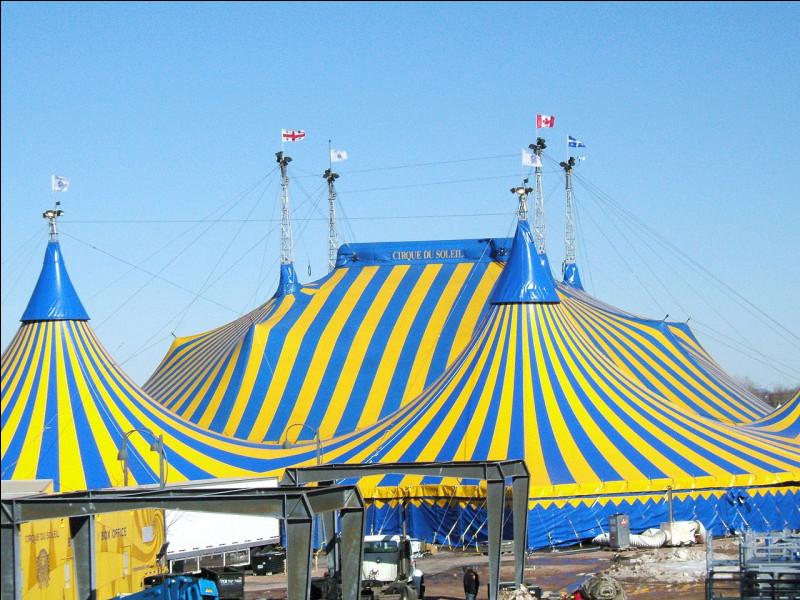 Où se trouve le siège social du Cirque du Soleil ?