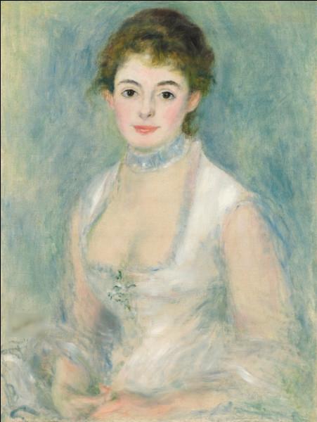 """Quel peintre est l'auteur du tableau """"Portrait de Madame Henriot"""" ?"""
