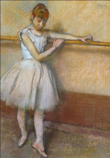 """""""Danseuse à la barre"""" est un tableau de quel peintre ?"""