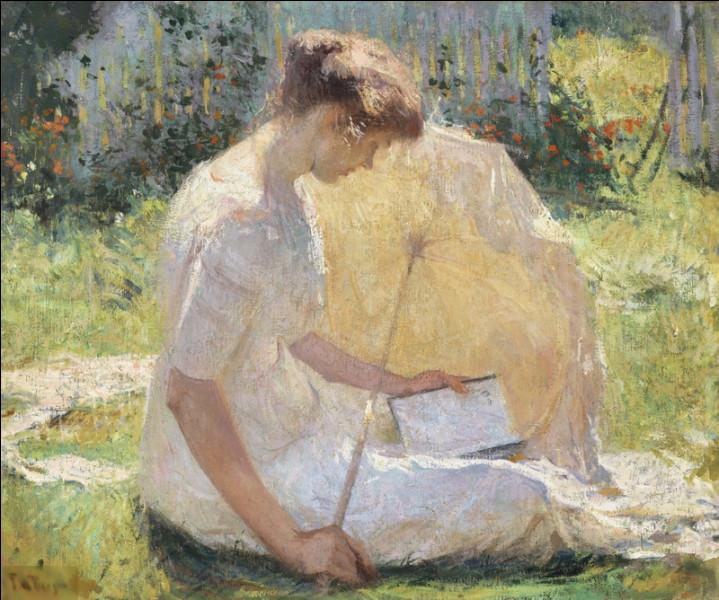 """Quel impressionniste américain a peint """"La Liseuse"""" ?"""