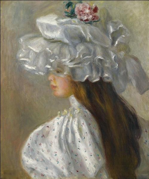 """Qui a peint """"Jeune fille au chapeau"""" ?"""