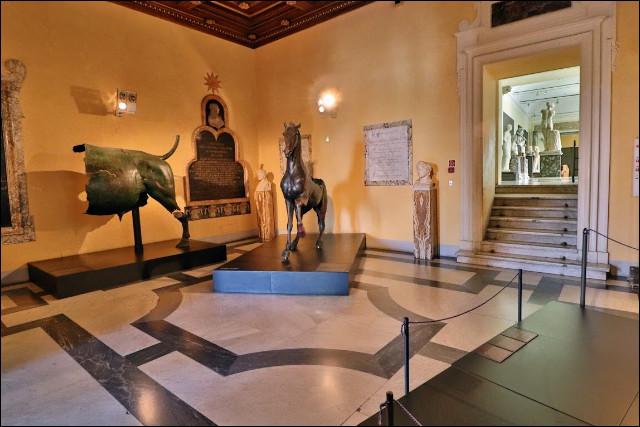 Les musées capitolins - En quelle année les musées capitolins furent-ils fondés ?