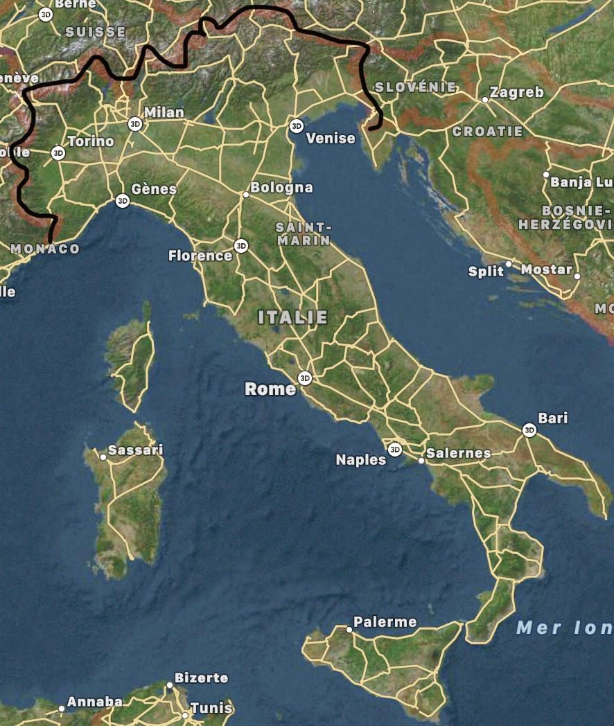 Monuments - Les monuments italiens