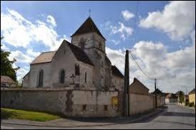Vous avez sur cette image l'église Saint-Sébastien d'Euvy. Petit village Marnais de 81 habitants, il se situe en région ...