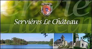 Commune Corrézienne, Servières-le-Château se situe en région ...