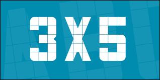 Combien font 3 x 5 ?