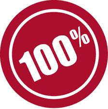 Vous devriez avoir 100 % !