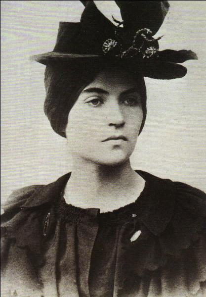 Artiste peintre de la fin XIXe et début XXe, voici ... Valadon.