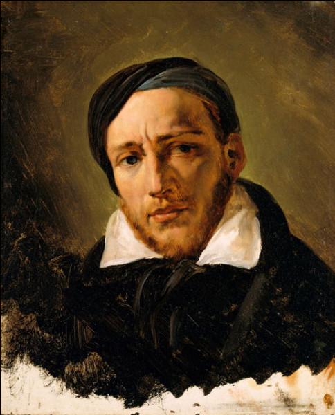 """Peintre romantique français du début XIXe, auteur du célèbre """"Radeau de La Méduse"""", c'est ... Géricault."""