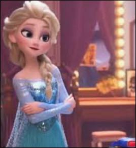 Quelle princesse contrôle la glace ?