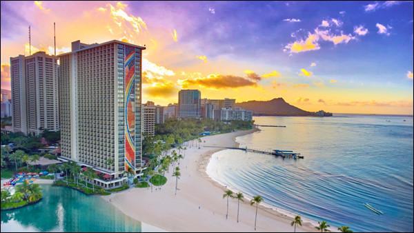 Pointerez-vous victorieusement la cible qui matérialise la ville d'Honolulu, État d'Hawaï, ou sera-ce un coup d'épée dans l'eau ?