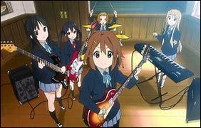 (K-on) Qui est la 5e et dernière membre du club de musique légère ?