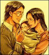 (L'Attaque des Titans) Comment s'appellent les parents d'Eren Jaeger ?
