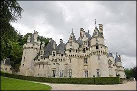La château d'Ussé se situe dans le Loiret.