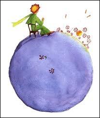 Le Petit Prince parle aux roses : 'Vous êtes belles, mais vous êtes ' :