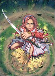 « Quant à toi,Sakura, au lieu de vouloir sauver une vieillarde agonisant, pense plutôt à ceux qui sont chers à ton cœur. Tu sais, j'ai l'impression de me revoir en toi. La combativité dont tu as fait preuve est une chose assez rare chez une femme, tu as tout ce qu'il faut pour devenir une kunoichi encore plus puissante que ton maître. » Qui a dit ça ?