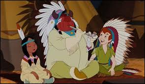 """Comment se nomme la fille du chef indien dans """"Peter Pan"""" ?"""