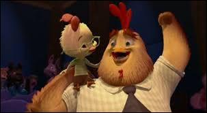 Lequel de ces malheurs n'arrive pas à Chicken Little ?